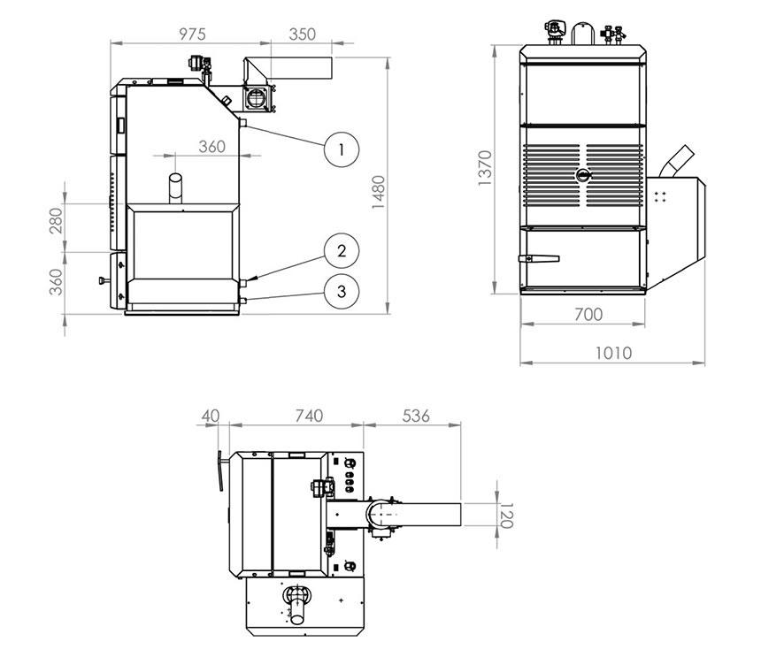 effecta pelletheizung komplett iii 20 25 und 35 kw marburg leguan energiesysteme. Black Bedroom Furniture Sets. Home Design Ideas